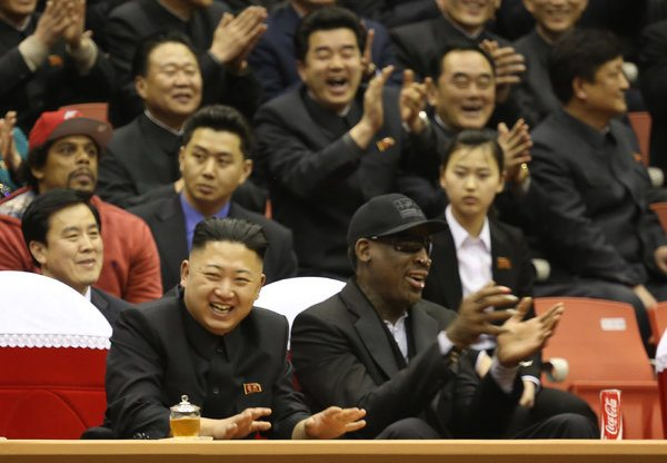 Rodman in North Korea and says leader wants Obama to call him