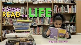 13 Year old African American Girl Reads over 300 Books Per Year