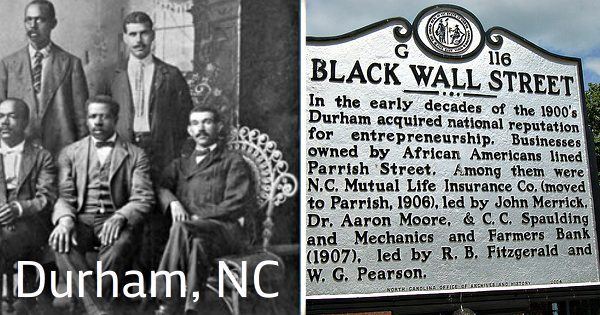 Did You Know Durham, North Carolina Had It's Own Black Wall Street? 2