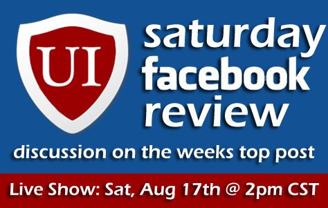UI Saturday Facebook Review #01