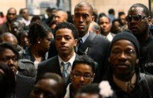 black unemployment up