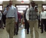 "Footage from the video ""Suit and Tie in the 217."""