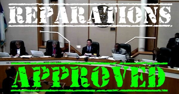 Approved: Slavery Reparations By Dallas County Commissioners
