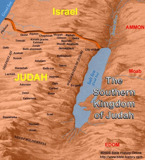 Southern Kingdom of Israel