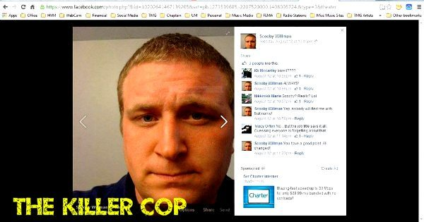 #MikeBrown: Ferguson's Killer Cop, Bryan P. Willman, Picture Revealed By Anonymous