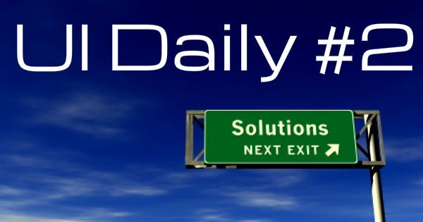UI Daily #2: Turning Ferguson's Short Term Rage Into Long Term Prosperity