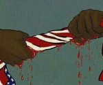 Squeezing Blood from a Flag