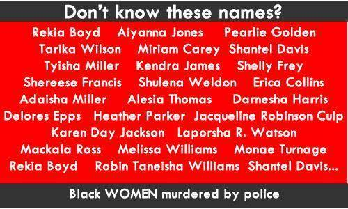UIMD: ...and all the Black Women, too...
