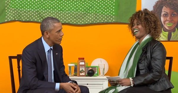 YouTube Star GloZell Green Interviews POTUS, Asks About Distrust Between Police and Blacks