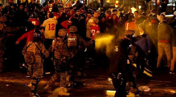 Hypocrisy: Ohio State Fans Riot After Football Championship, But Blacks Are Thugs When We Seek Justice?