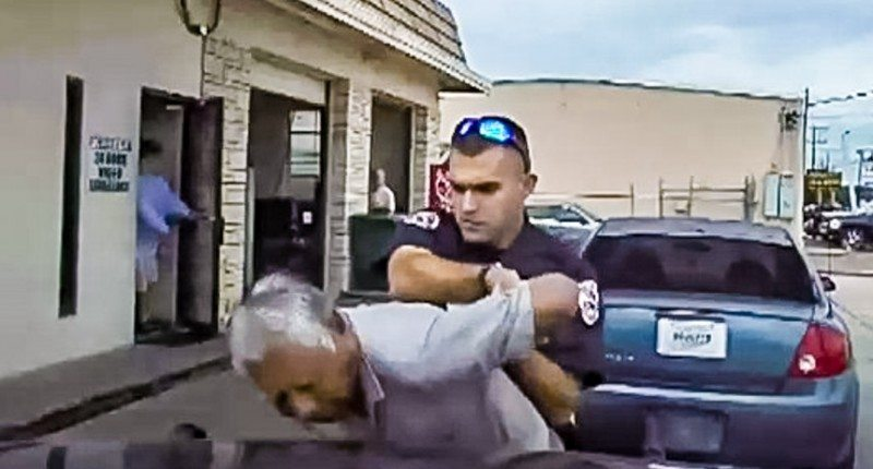 Police Officer Fired After He Tased 76 Year Old Man