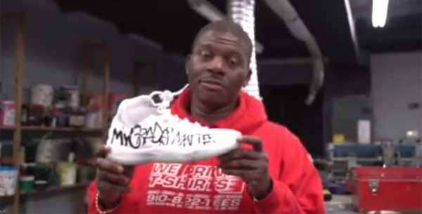 What & Why This Father Wrote On His Son's $300 Air Jordans Will Make You Proud As A Parent
