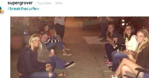Black Only: Twitter Pics Reveal Baltimore's Curfew Did Not Apply To White People 6