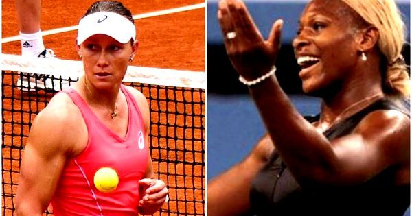 ...But Serena Williams Is Suppose To Be Built Like A Man & Samatha Stosur Isn't? (Full Picture Comparison) 1
