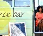 Marsha Barnes Financial Literacy Bus