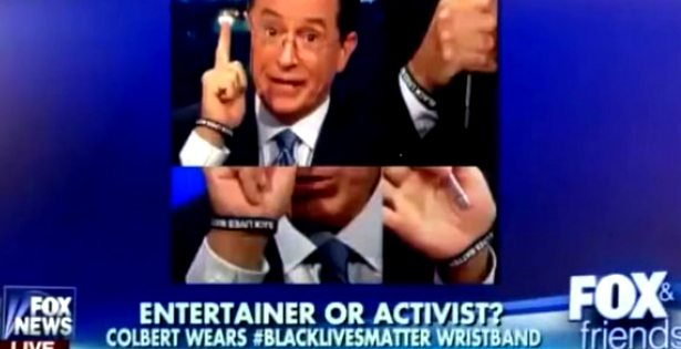 Fox News Host Lost Their Mind Over Stephen Colbert Wearing a Black Lives Matter Bracelet