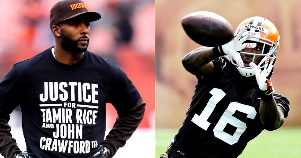 NFL Cleveland Browns Player Demands Justice for Tamir Rice & John Crawford, Killed By the Police