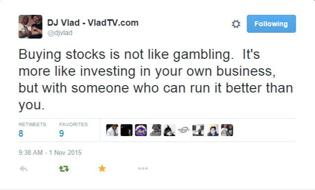 Investing in stocks can be like gambling when 10 rules of gambling