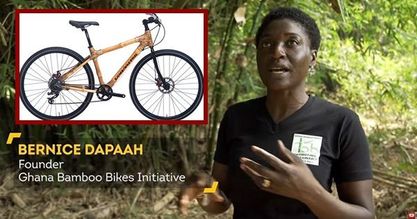 Learn How This Woman Is Changing Transportation in Ghana with Her Eco-friendly Bamboo Bikes