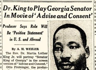 Dr King Advise and Consent
