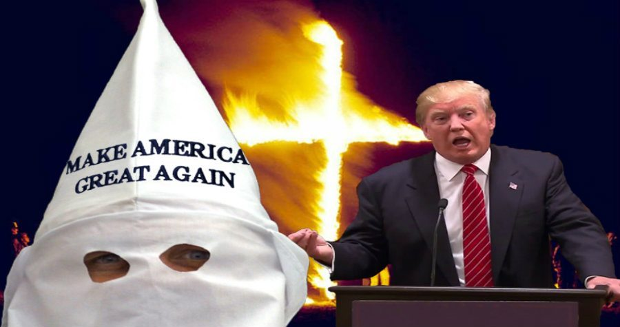 KKK Shows Up to Support Donald Trump at Nevada Cacaus ...
