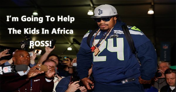 In Retirement, Marshawn Lynch Will Teach Football in Africa