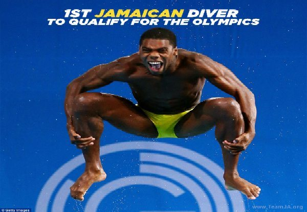 Yona Roshen Knight-Wisdom Becomes the First Male Jamaican Diver to Qualify For the Olympics 4