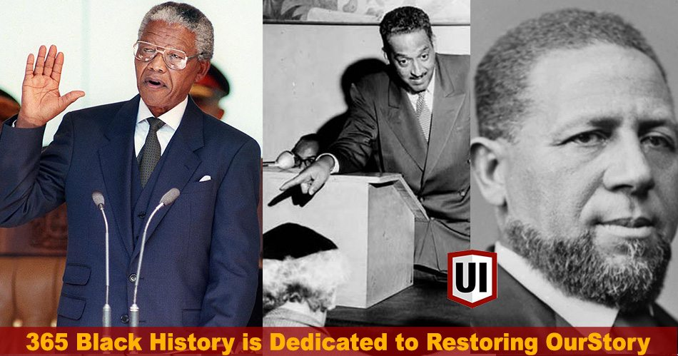365 Black History: May 10th - Mandela's Inaguration, Voter Fraud Has Long History in America & First Black Governor