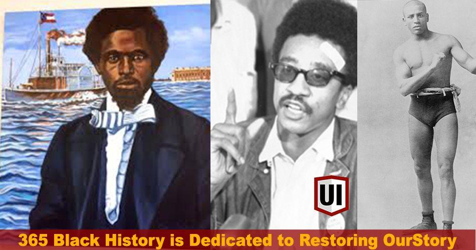 365 Black History: May 12th - Smalls Steals Confederate Ship to Escape Slavery, H. Rap Brown & More