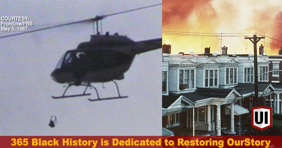 365 Black History: May 13th - Philly Police Bomb MOVE Org by Helicopter, Joe Louis, Stevie Wonder & More