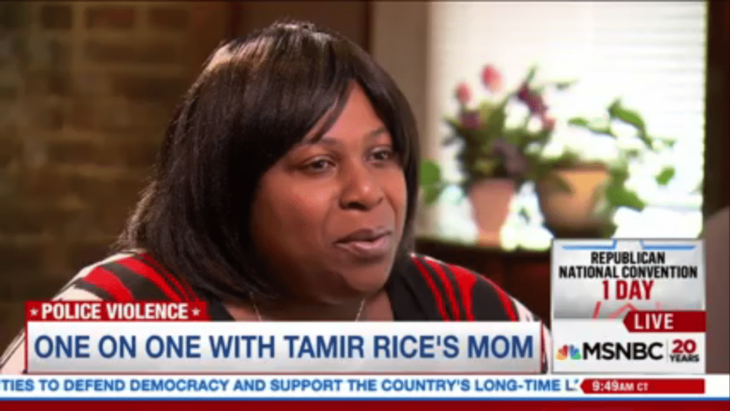 """Tamir Rice's Mother on President Obama: """"I Don't Know How You Sleep at Night"""""""