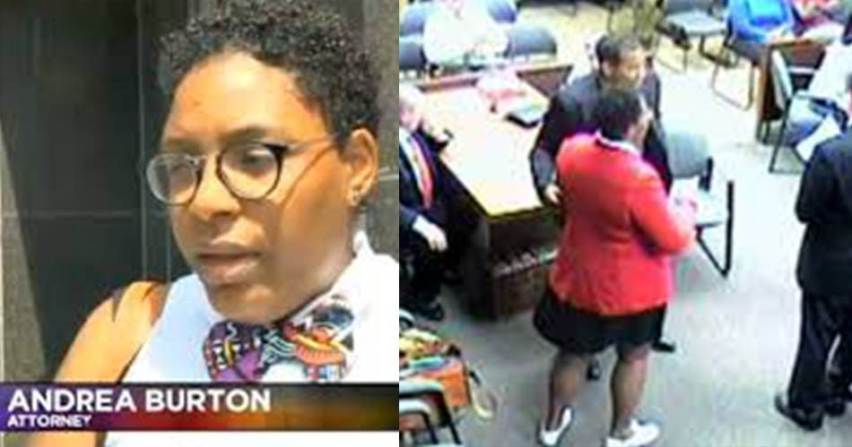 Attorney Andrea Burton Sentenced to Five Days in Jail for Wearing a Black Lives Matter Button
