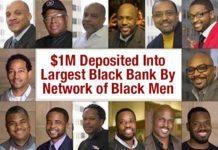 $1M Deposited Into Largest Black Bank By Network of Black Men