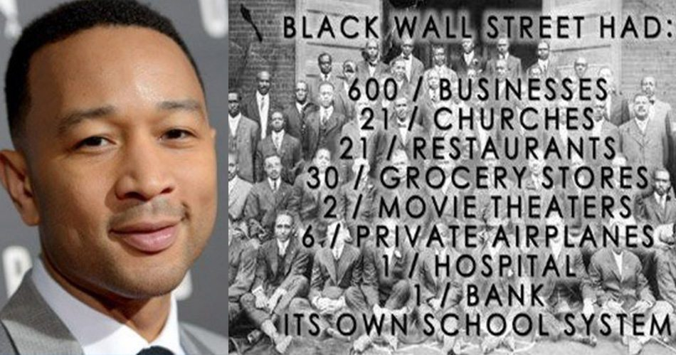 John Legend Black Wall Street