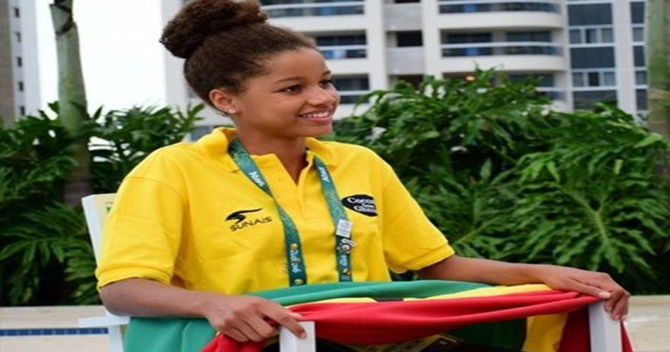 14-Year-Old Girl Makes History as Ghana's First Olympic Swimmer