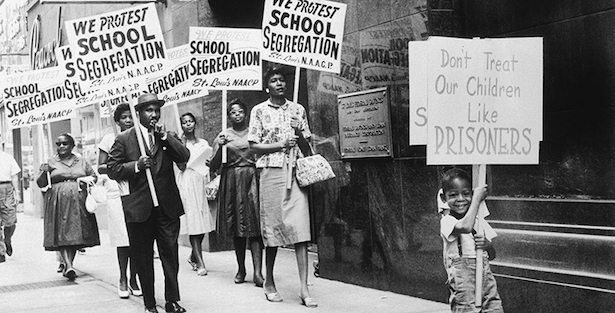 segregated schools in the south - 1361×754