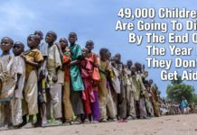 49,000 Children Are Going To Die By The End Of The Year If They Don't Get Aid!