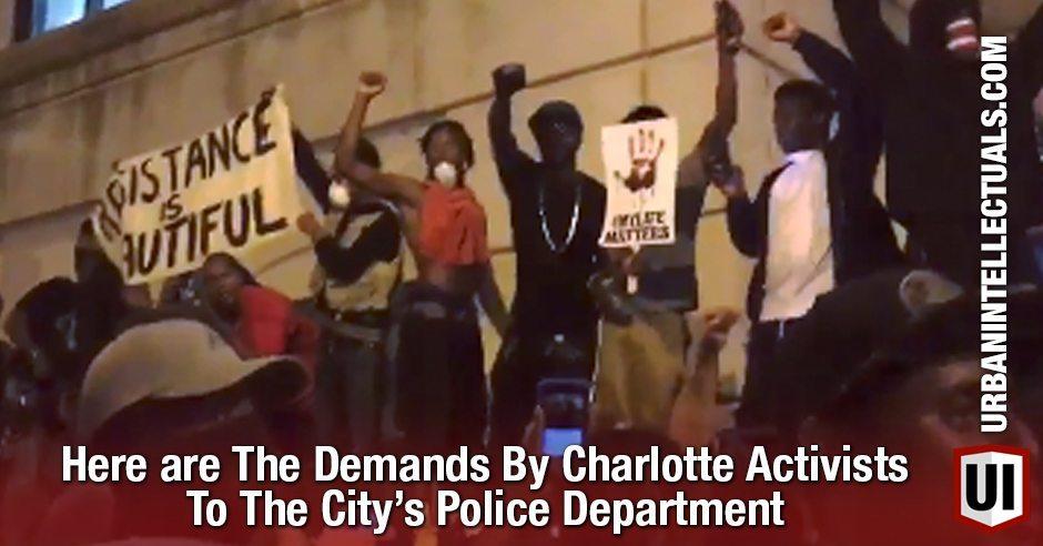 charlotteactivistdemands