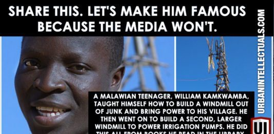 Malawian Teen Taught Himself How To Build A Windmill From Junk, Brought Power To His Village, ALL Learned From Library Books! 2