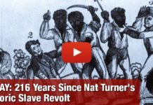 TODAY: 216 Years Since Nat Turner's Historic Slave Revolt