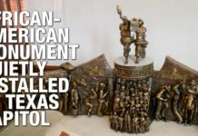 African-American Monument Quietly Installed at Texas Capitol
