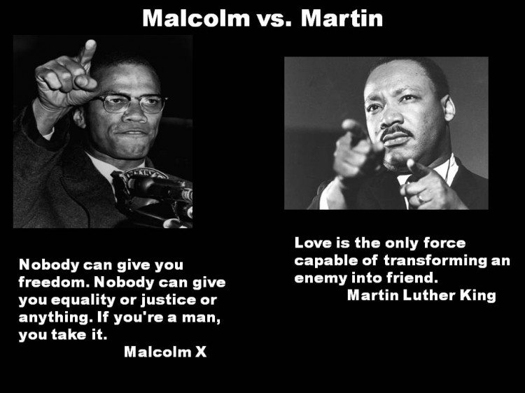 Quiz: Are You Dr. King or Malcolm X?