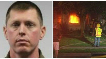 Firefighter Burns His Own Home and Guess Who He Blamed