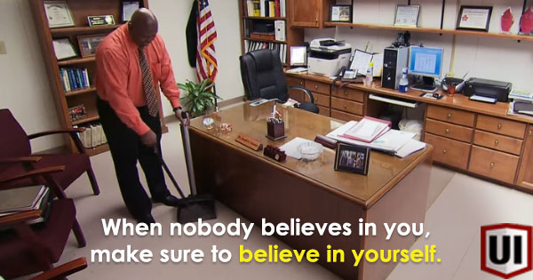 Principal Mops His Own Office Everyday, The Reason Why Will Make You Tear Up!