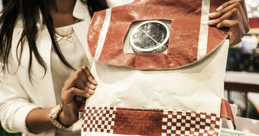 South African Duo Create Solar-Powered Bags that Turn into Lights at Night