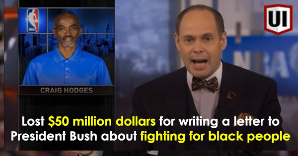 Did You Know NBA Star Craig Hodges Lost $50 Million Dollars For Telling President Bush To Help Black People