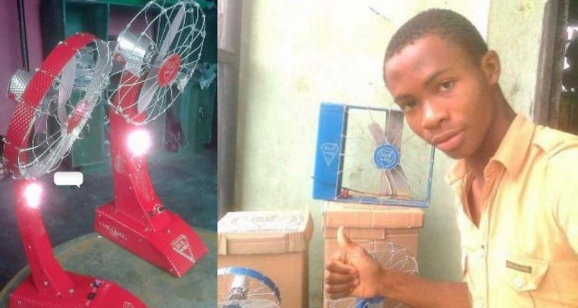 #BlackMagic: Thirteen-Year Old Creates Electricity-Free Fan