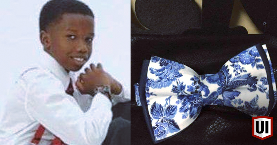 DOPE: 11 Year Old Gentlemen Has His Own Classic Bow Tie Business!