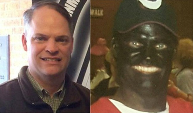 politicians in blackface