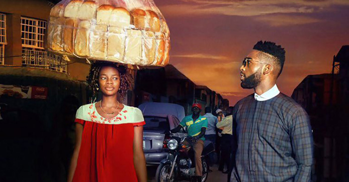 Nigerian Bread Seller Mistakenly Photobombs Rap Star and Gets Lucrative Modeling Contract